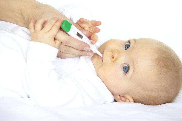 измерение температуры тела ртом