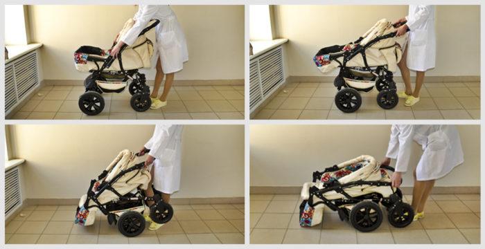 Сборка коляски-трансформера