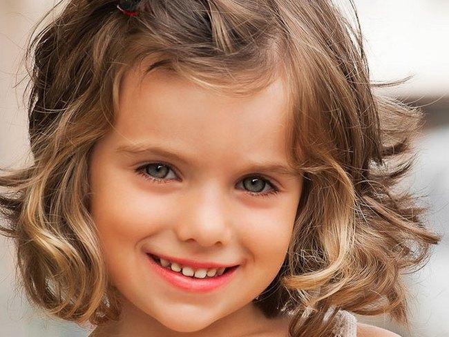 Прически для девочки до 8лет