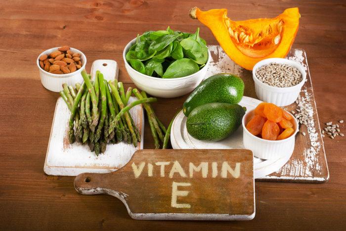 Витамин Е в продуктах