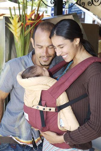 Вкладка в эрго-рюкзак для новорождённых