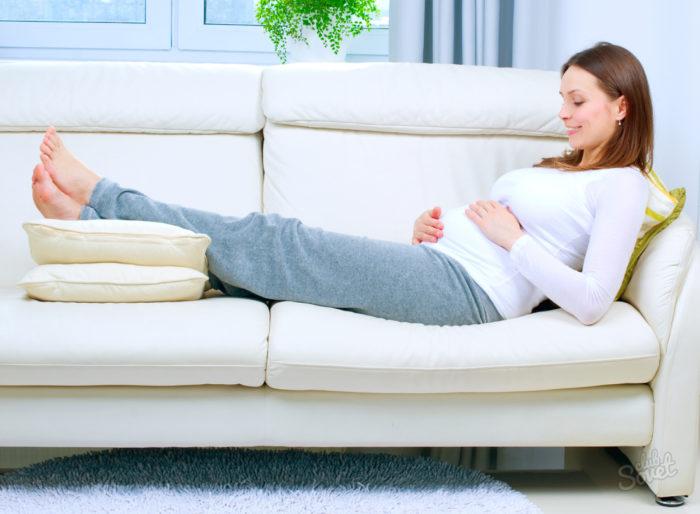 Тяжесть в ногах во время беременности