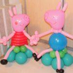 Фигуры из шаров