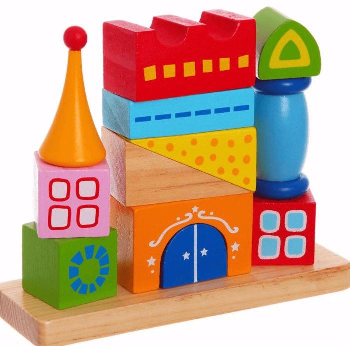 Логическая пирамидка-домик
