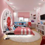 Ремонт в комнате для девочки