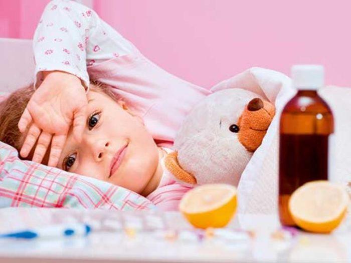 Снижение детского аппетита вследствие болезни