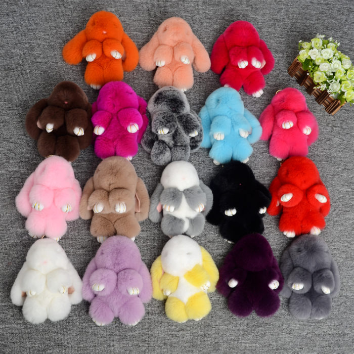 Брелоки-зайцы