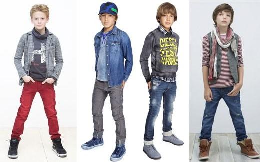 Четверо стильных мальчиков