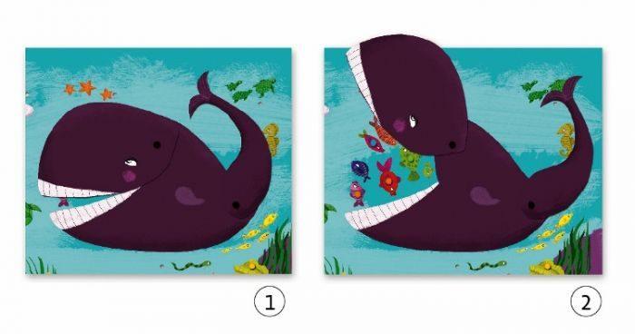 Два кита на кнопках