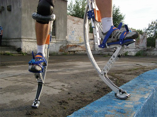 Ноги в джампере