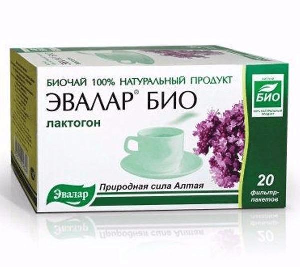 Лактогон чай