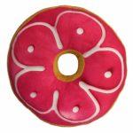 Подушка «Пончик с клубничной глазурью»
