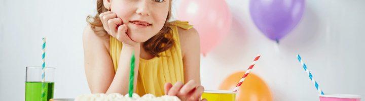 Ребёнок на дне рождения 9 лет