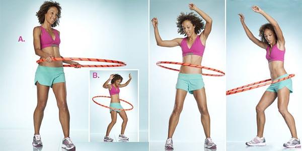 Упражнение с обручом