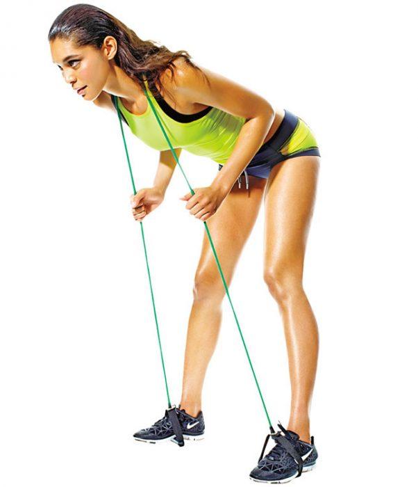 Упражнение с резинкой