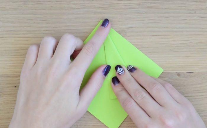 Заготовка для бумажной елки