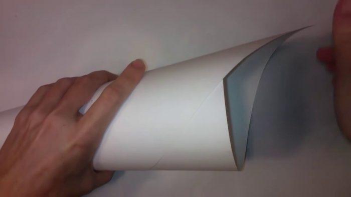 Изготовление конуса из картона