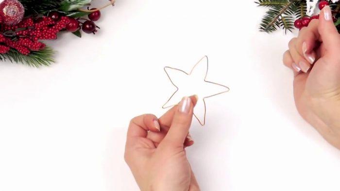 Звезда из проволоки