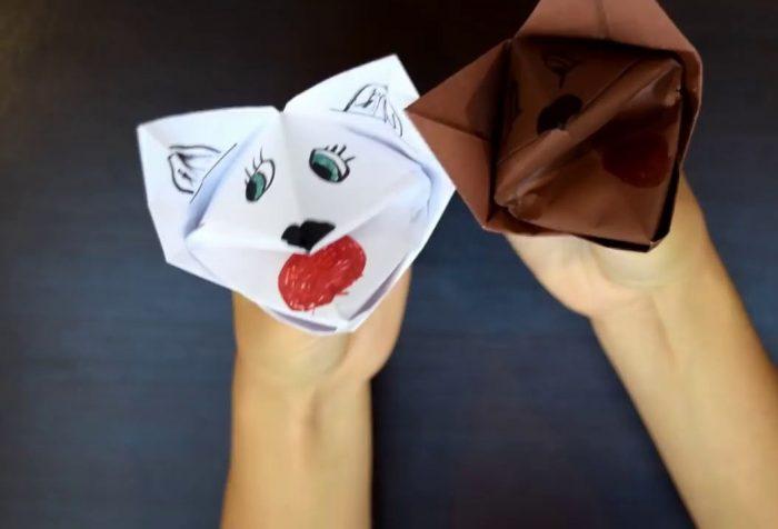Собаки оригами