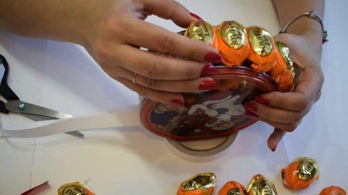 Коробка и конфеты