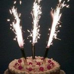 Фейерверк для торта