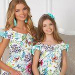 Одежда для мамы и дочки