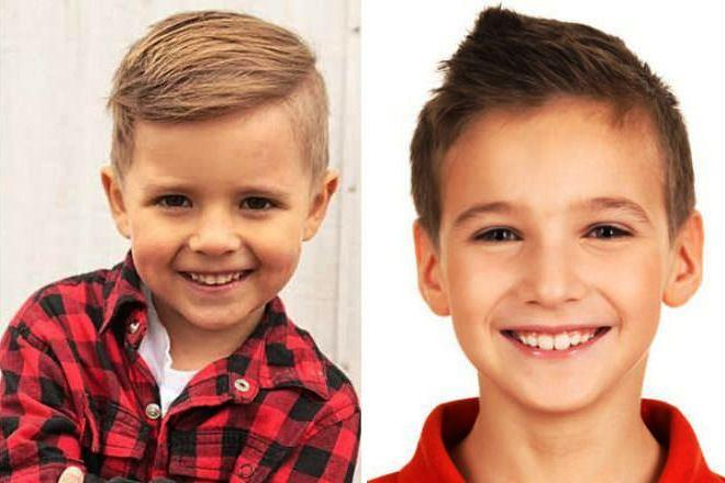 Причёска «Цезарь» - подходящий вариант для школьников