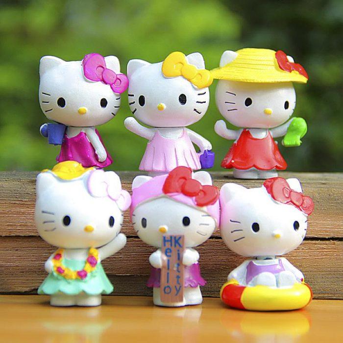 Игрушки Hello Kitty из ПВХ