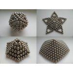 Пример фигур, которые можно соорудить из магнитных шариков Неокуба