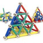 Магнитный конструктор из шариков и палочек