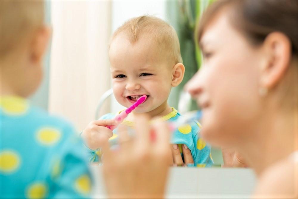 Особенности гигиены полости рта у маленьких детей