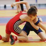 Поединок по детской вольной борьбе