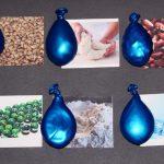 Сенсорные мешочки из воздушных шаров
