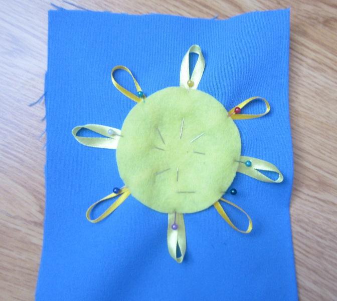 Кармашек с солнышком