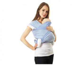 Май-слинг для ребёнка — незаменимая помощь маме