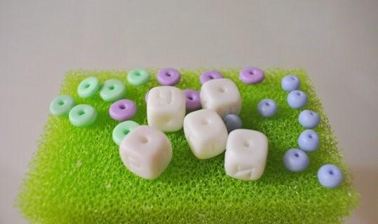 Варианты бусин из полимерной глины