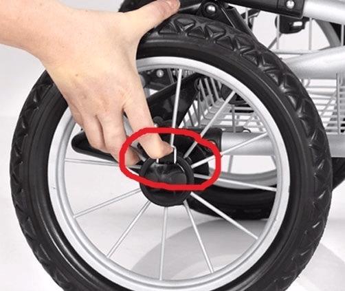 Скоба для снятия колеса