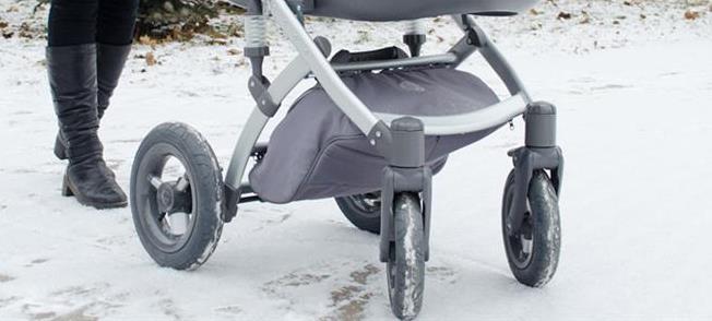 Поворотные колёса в коляске