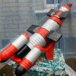 Ракета из пластиковых бутылок и других подручных средств