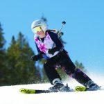 Лыжи для девочки