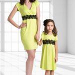 Одежда из серии «для мамы и дочки»