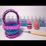 Крючок и станок для лумигуруми, поделки в виде корзинки и пасхальных яиц