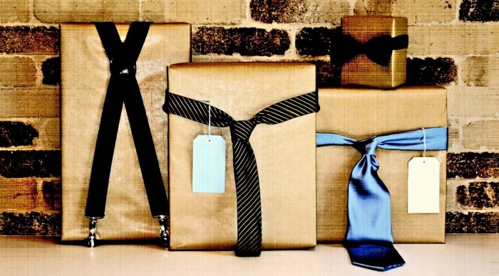 Подарки в упаковках для парня