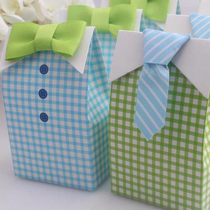 Упакованные подарки для мальчика