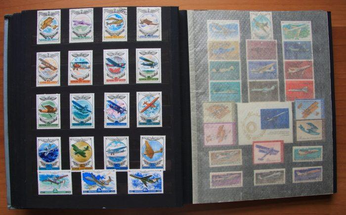 Открытый альбом для марок