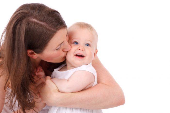Мама и малышка
