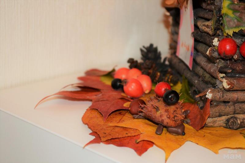 Осенняя поделка в школу: сочетаем дары природы и свою фантазию