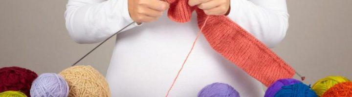 Если беременной нравится заниматься рукоделием, то это вполне можно делать, соблюдая несложные правила