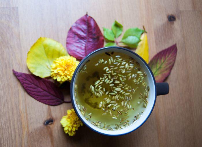 Чай из семян укропа