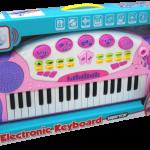 Детское музыкальное пианино в коробке